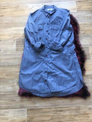 Q/S Robe chemisier bleu azur