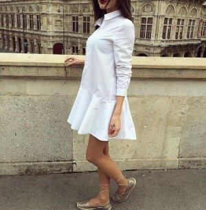 Blusenkleid weiß asos