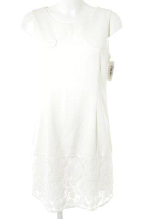 Blusenkleid weiß Casual-Look