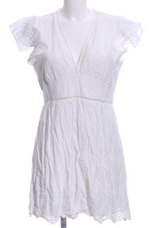 Abito blusa bianco stile casual