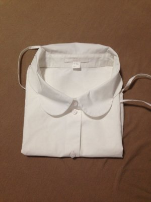 COS Blouse Collar white cotton
