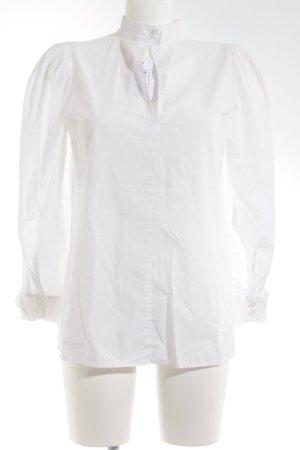 Cols de blouses blanc style d'affaires