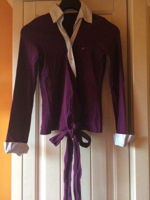 Gant Blusa cruzada multicolor tejido mezclado