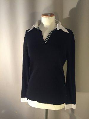 Blusenpullover - Pullover mit Blusenkragen