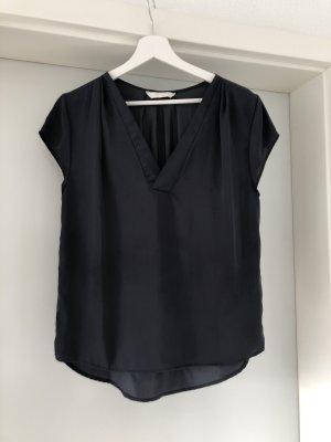 H&M Conscious Collection Blouse brillante gris anthracite