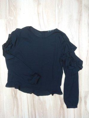 Blusenshirt black -S/M