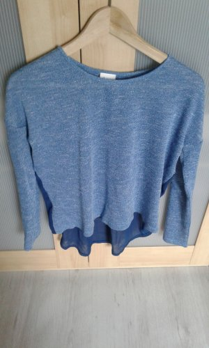 Aniston Blusa de túnica azul