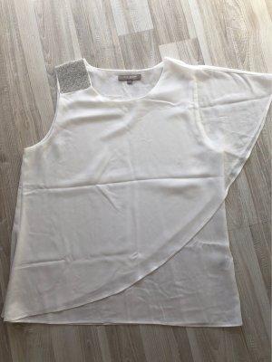 Camisa de mujer blanco puro
