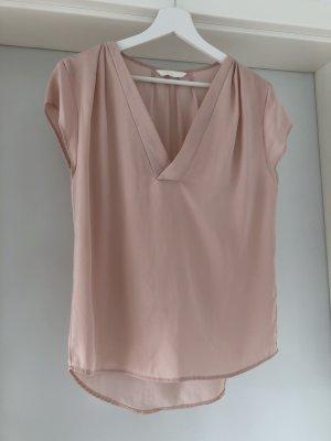 H&M Blouse brillante rosé