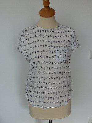 Blusenshirt H&M weiß, Gr. 34