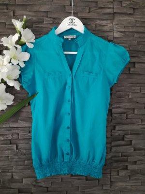 Blusenshirt Kurzarm Bluse Shirt