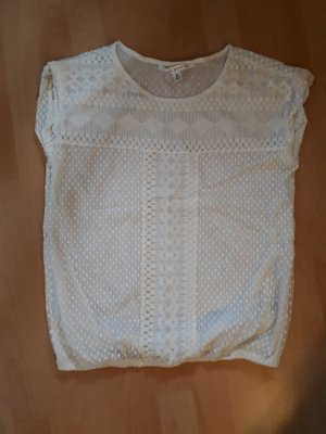 MaxStudio Mesh Shirt natural white mixture fibre