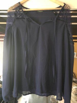Blusenshirt mit Spitze, Größe L