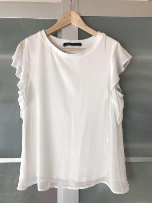 Blusenshirt mit Untertop von Zara