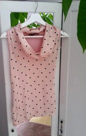 Blusenshirt Seide  aus Italien rosé Gr. L 40