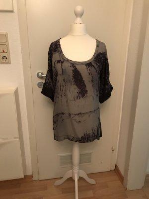 Blauer Camisa gris antracita-gris