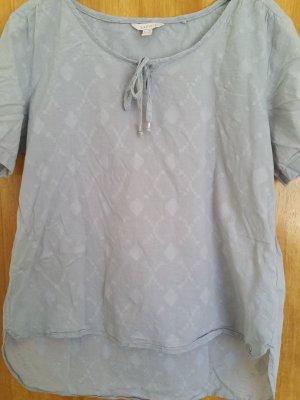 Esprit Slip-over Blouse light grey cotton