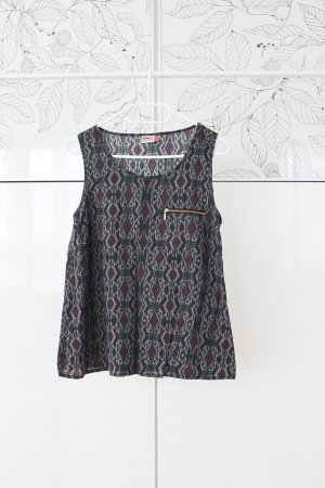 Only Blusa sin mangas multicolor