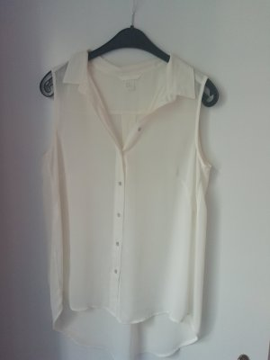 H&M Top Polo blanc