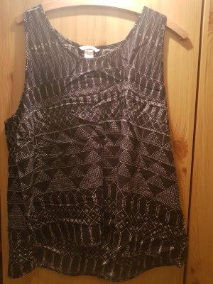 H&M Casacca bianco-nero