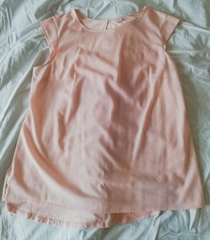 s.Oliver Mouwloze blouse stoffig roze-nude
