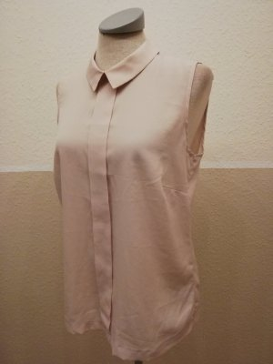 Blusentop Bluse ärmellos retro rosa Gr. UK 10 EUR 38 S M Papaya Top Oberteil