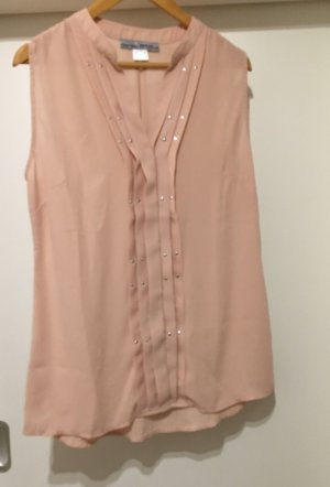 Ashley Brooke Blouse sans manche rose