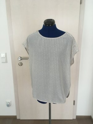 Opus Blusa bianco-grigio chiaro