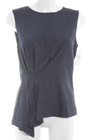 Blusa blu scuro stile casual
