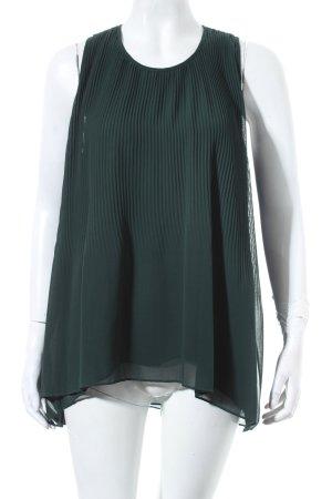 Blusa verde scuro stile semplice