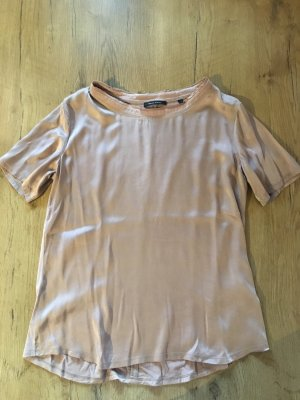Marc O'Polo Blusa brillante color rosa dorado