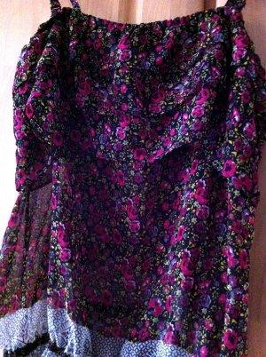 Blusentop mit Blumenprint von Vero Moda