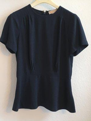 Michael Kors Blouse Top dark blue polyester