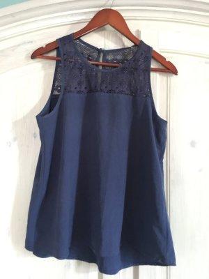 Blusa blu scuro