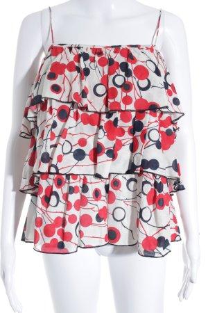 Camisa de mujer estampado a lunares estilo extravagante