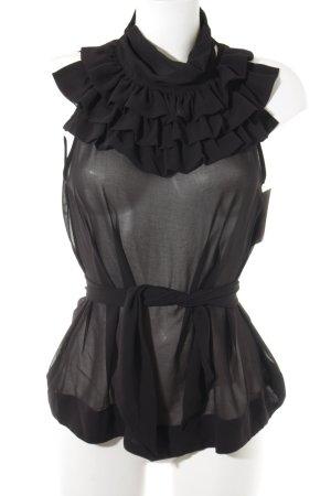 Blouse Top black elegant