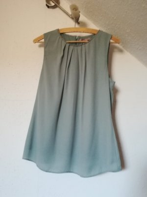 Anna Field Blouse Top sage green synthetic fibre