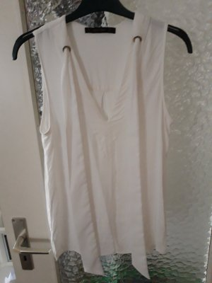 Zara Basic Blusa bianco-bianco sporco