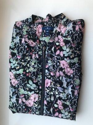 Bluson Jacke mit Blumenmuster