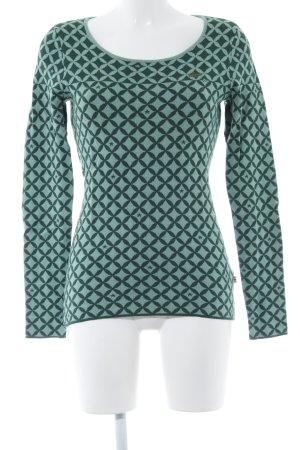 Blutgeschwister Jersey de cuello redondo verde claro-verde look casual
