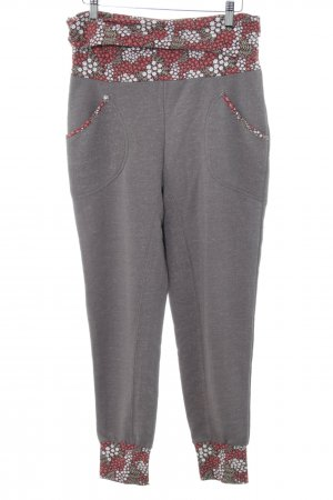 Blutgeschwister Pantalone fitness motivo floreale stile casual