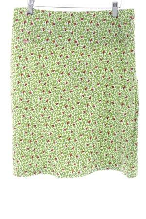 Blutsgeschwister Crash Skirt green-red allover print casual look