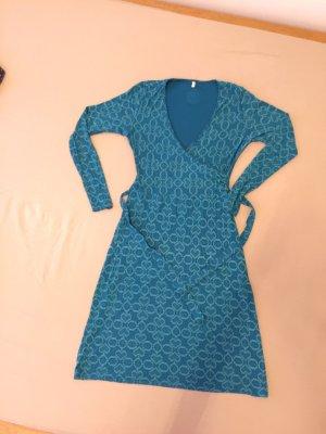 Blutsgeschwister Jersey Dress turquoise viscose
