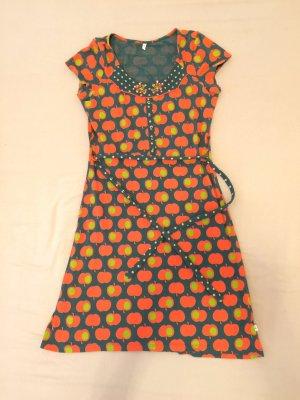 Blutsgeschwister Mini Dress multicolored cotton