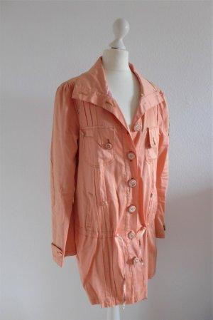 Blutsgeschwister Jacke Mantel Parka Schwän Franziska nude flamingo rose orange Gr. M 38/40