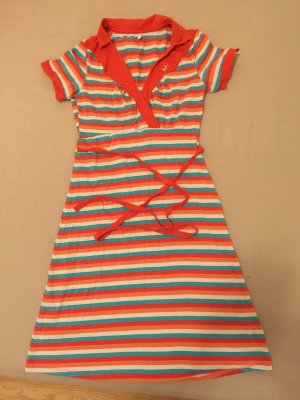 Blutsgeschwister Kleid bunt geringelt Gr. L