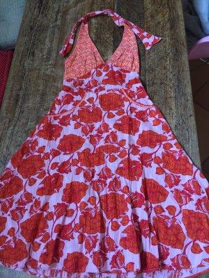 Blutgeschwister Halter Dress orange-dark red