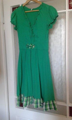 Blutsgeschwister Kleid- Grün in XL