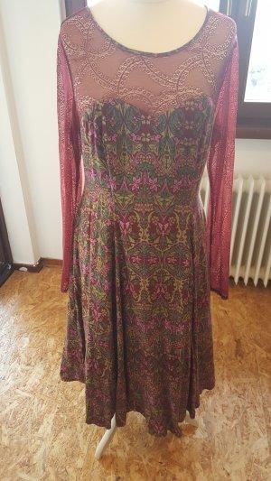 Blutsgeschwister Kleid mit Spitze , XL, 1x getragen