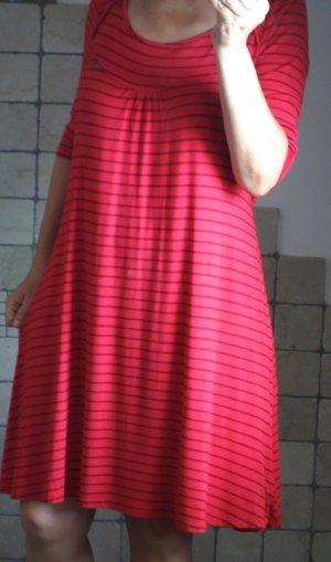 Blutsgeschwister A-lijn jurk rood-donkerrood